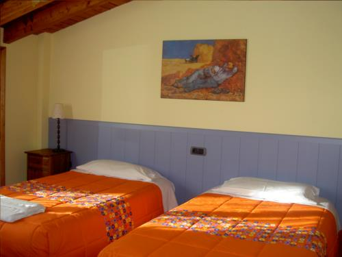 double room farm house goiena in Bizkaia
