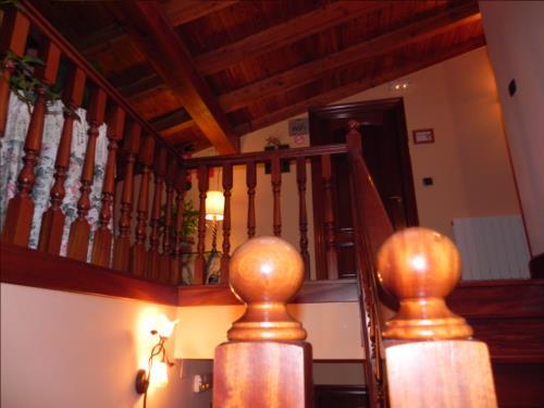 inside farm house goiena in Bizkaia
