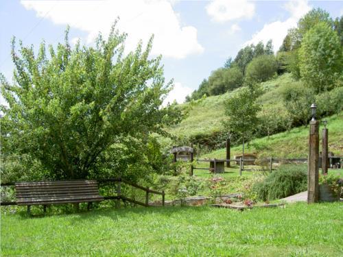jardín agroturismo Goiena en Bizkaia