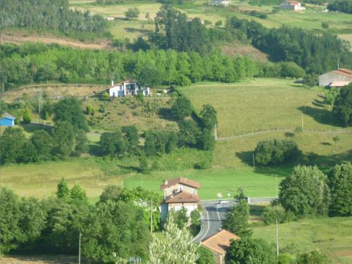 landscape farm house goiena in Bizkaia