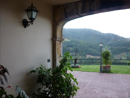 porch farm house goiena in Bizkaia