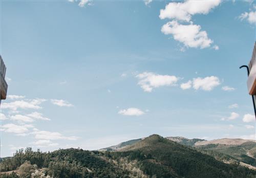 Vistas desde Casa Rural Urrezko Ametsa en Bizkaia