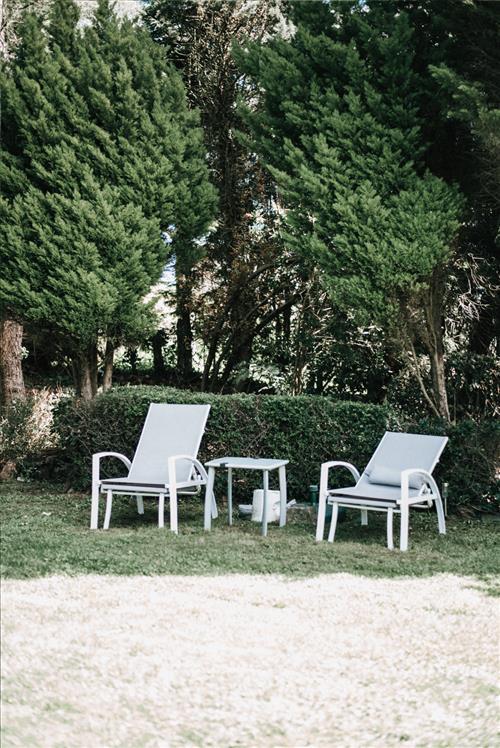 Jardín Casa Rural Urrezko Ametsa en Bizkaia