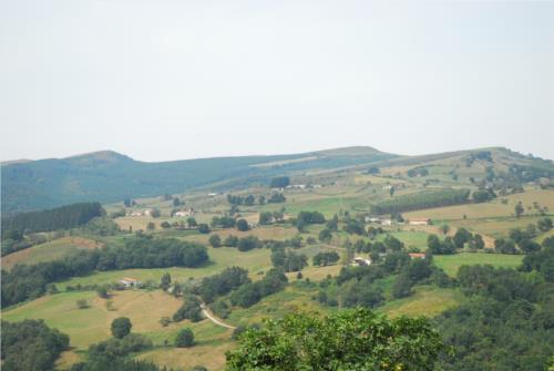 paisaje casa rural gailurretan en Vizcaya