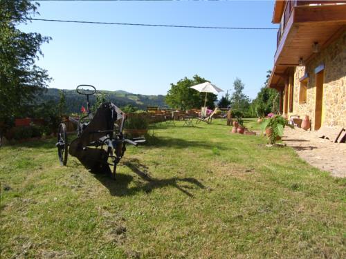 exterior casa rural gailurretan en Vizcaya