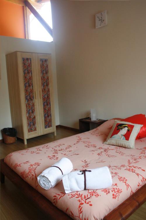habitación doble 2 casa rural gailurretan en Vizcaya