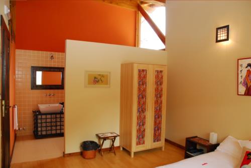 habitación doble 3 casa rural gailurretan en Vizcaya