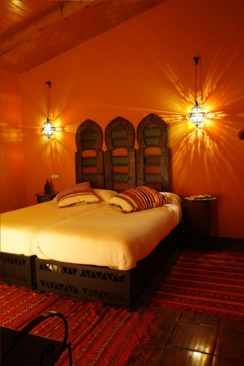 habitación doble 4 casa rural gailurretan en Vizcaya
