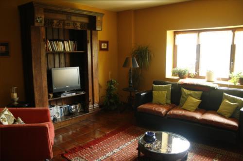 salón casa rural gailurretan en Vizcaya