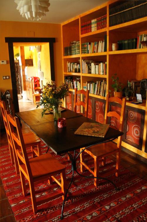 comedor casa rural gailurretan en Vizcaya