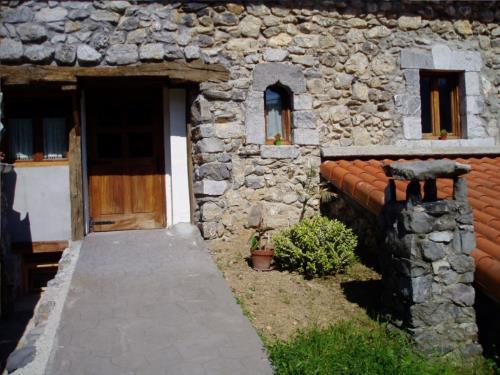 entrada casa rural Aranburu en Gipuzkoa
