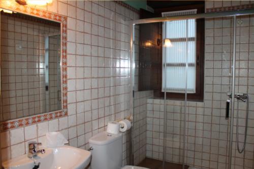 baño agroturismo longa nagusia en bizkaia