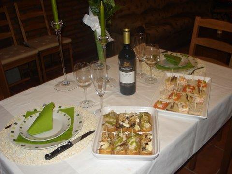 gastronomia 1 casa rural arbaieta etxea en Alava