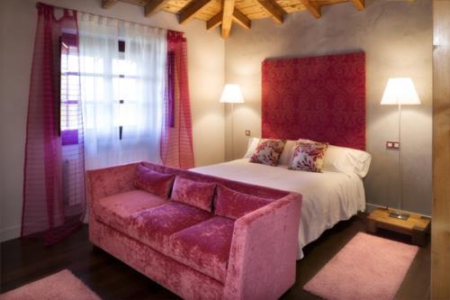 habitación doble casa rural etxegorri en Vizcaya