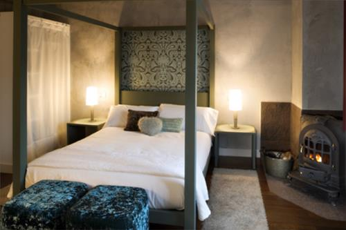 habitación doble 1 casa rural etxegorri en Vizcaya