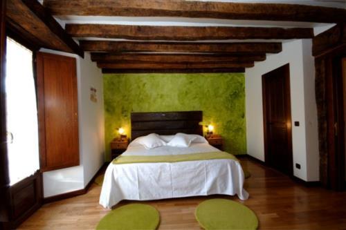 habitación doble 2 casa rural Zadorra etxea en Alava