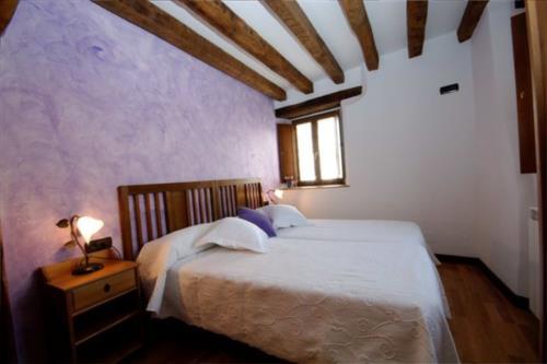 habitación doble 1 casa rural Zadorra etxea en Alava