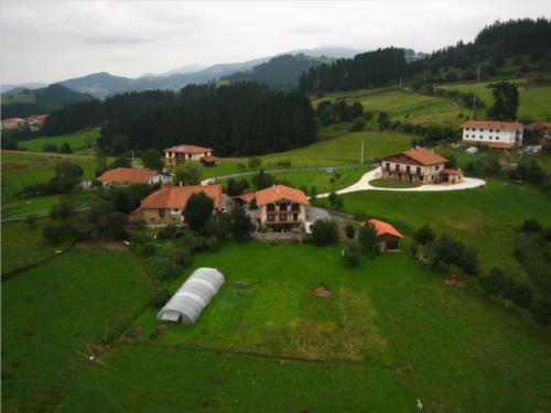 Paisaje 1 agroturismo Madalen Aurrekoa en Bizkaia