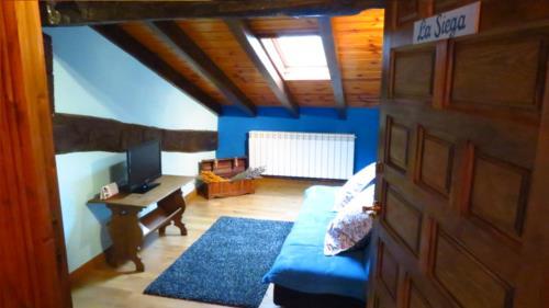 salón 1 casa rural la molinera etxea en Alava