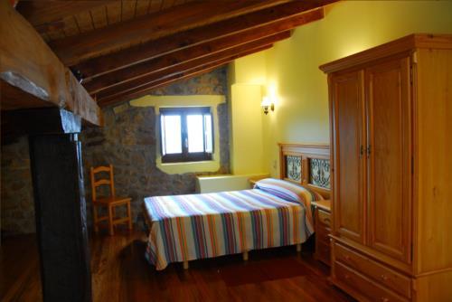 habitación doble 1 agroturismo Abeta Zaharra en Gipuzkoa