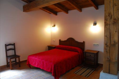 habitación doble 2 agroturismo Abeta Zaharra en Gipuzkoa
