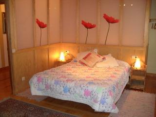 habitación doble casa rural zelaieta berri en gipuzkoa