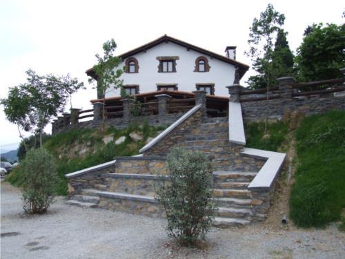 facade farm house bartzelona in Gipuzkoa