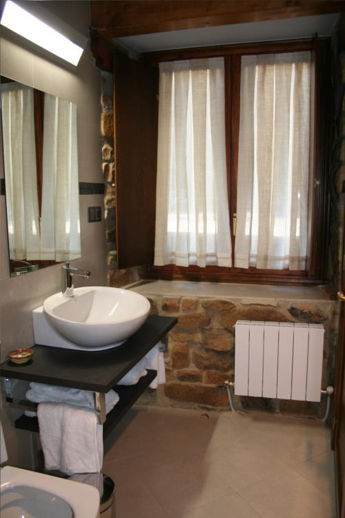 baño casa rural oka en Vizcaya