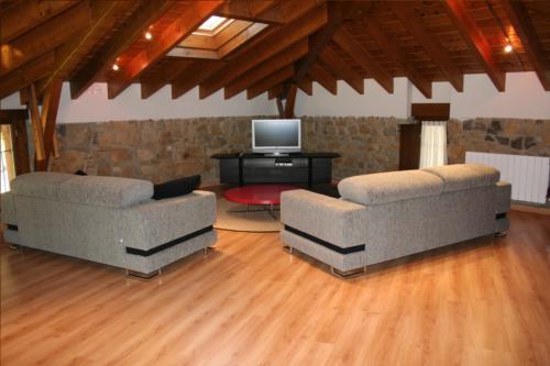 salón casa rural oka en Vizcaya