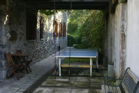 exterior agroturismo Urresti en Bizkaia