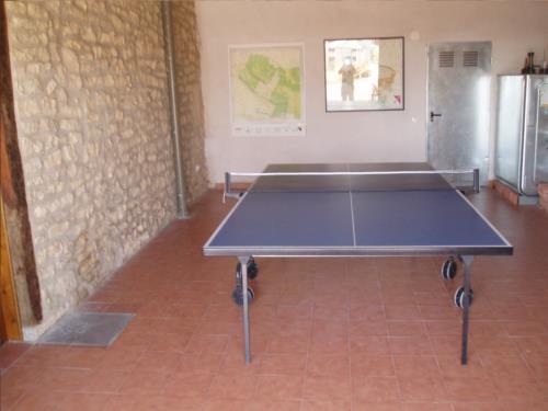 ping pong agroturismo ganbara en alava