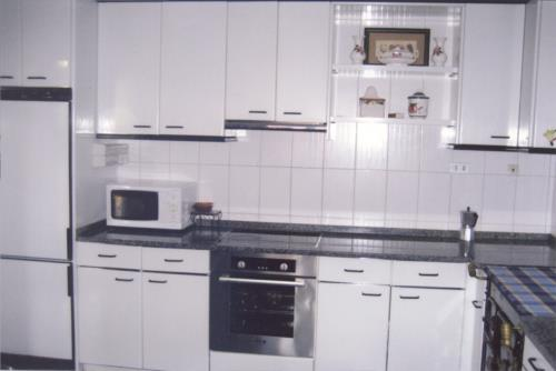 cocina casa rural Barturen en Bizkaia