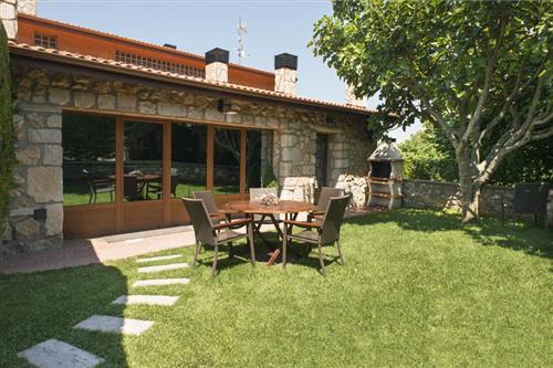 Jardín de la casa rural Legaire Etxea