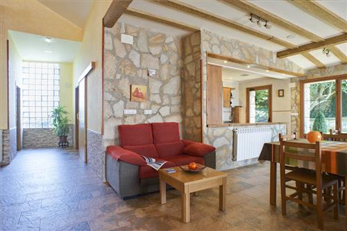 Salón de la casa rural Legaire Etxea