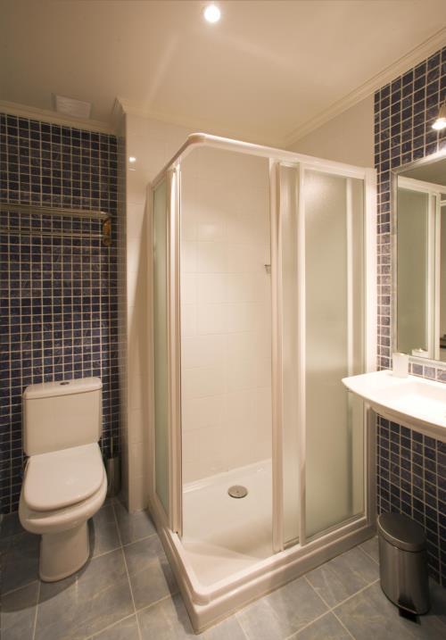 baño agroturismo Madarian en Bizkaia