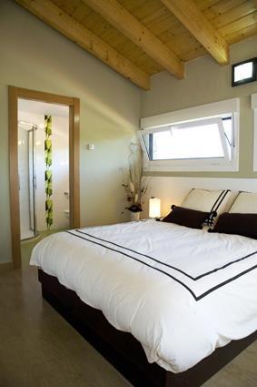 habitación doble 1 casa rural Orlegy en Alava