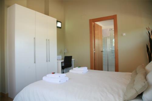 habitación doble 2 casa rural orlegy en Alava