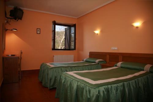 habitación doble 1 agroturismo berriolope en Vizcaya