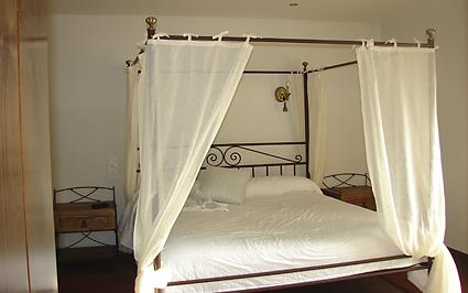 habitación doble 3 agroturismo Usotegi en Gipuzkoa