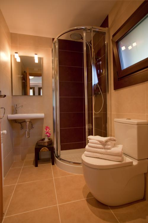 baño casa rural segotegi etxea en gipuzkoa
