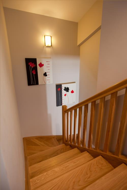 escaleras casa rural segotegi etxea en gipuzkoa