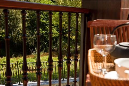 terraza casa rural segotegi etxea en gipuzkoa