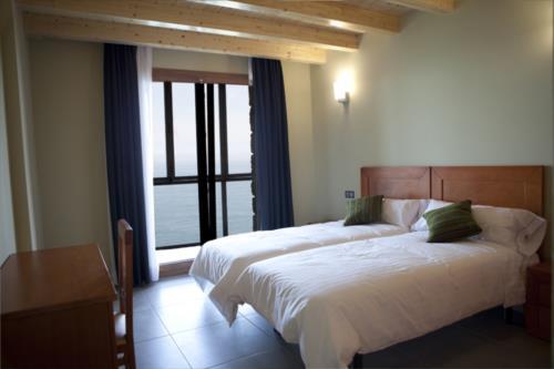 habitación doble 2 agroturismo Itxaspe en Gipuzkoa