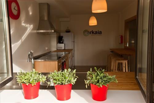 cocina agroturismo arkaia en Alava