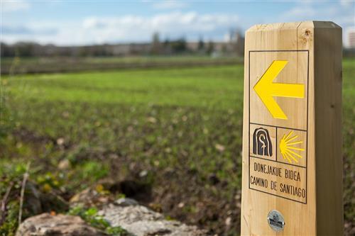 Camino de Santiago. Agroturismo Arkaia en Alava