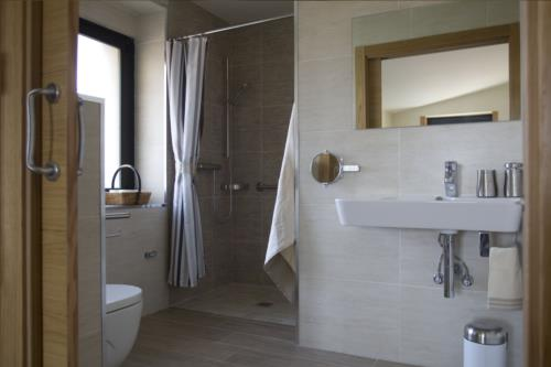 baño 1 agroturismo arkaia en Alava