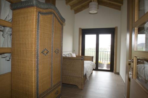 habitación individual agroturismo arkaia en Alava