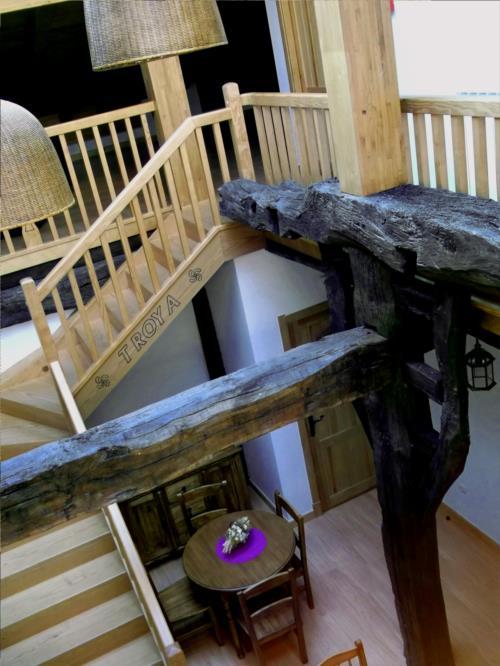 inside country house troya in Gipuzkoa