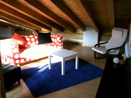 living room country house troya in Gipuzkoa