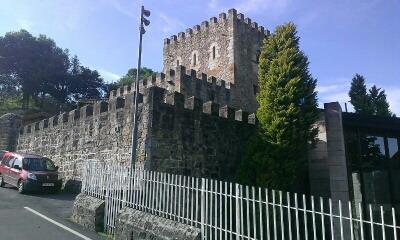 castillo agroturismo lezamako etxe en Vizcaya